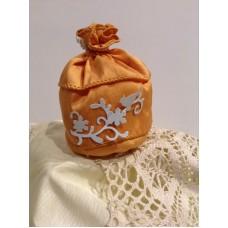 Sacchetto taffetà arancio