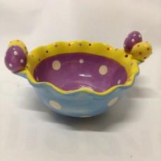 Ceramica Ciotola multicolor