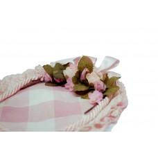 sacchetto in cotone con fiori