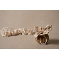 Centrino gioiello in duchesse - 003