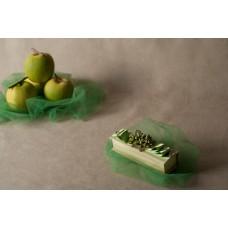 Scatolina in shantung con bacche e foglie - 003